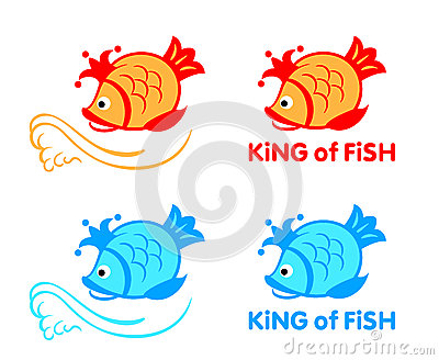King of fish symbol
