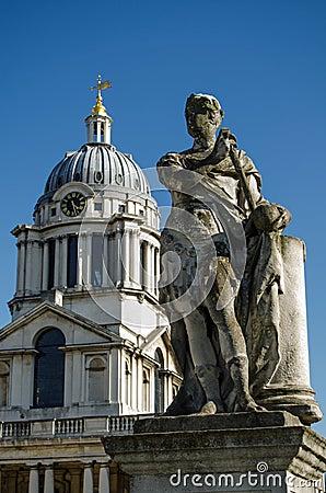 King George II Statue, Greenwich