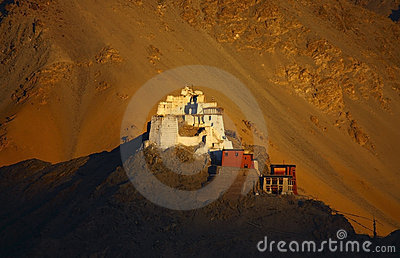 King gompa in leh