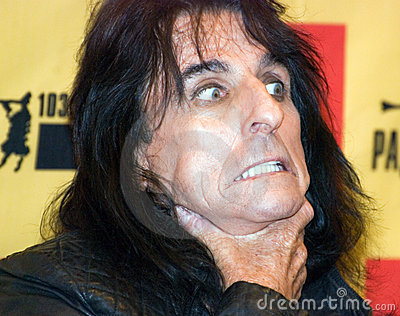 King of horror singer Alice Cooper Editorial Photo