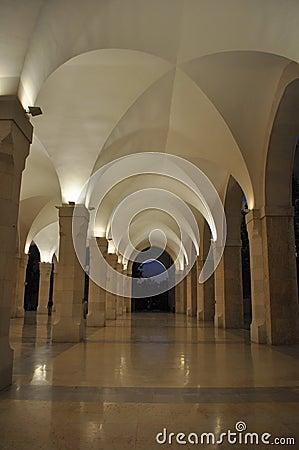 King Huseein Bin Tala Mosque Lobby