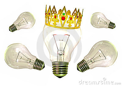 King of ideas bright idea
