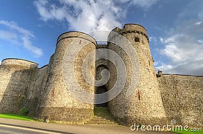 King John Castle fortress