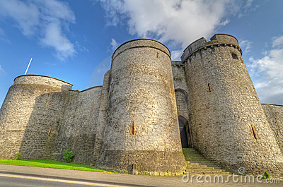 King John Castle in Limerick