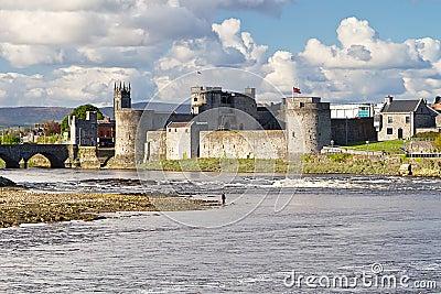 King John Castle in Limerick