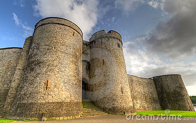 King John Castle walls