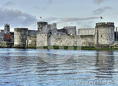 King John s castle HDR
