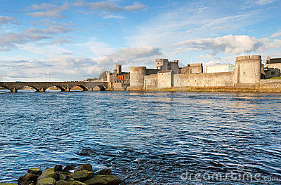 King John s castle in Limerick