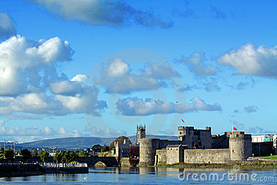 King Johns Castle Limerick Ireland