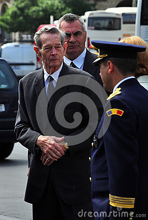 King Mihai I of Romania(11) Editorial Photo