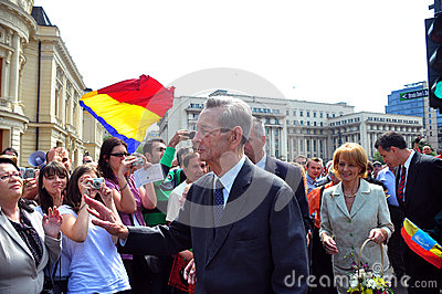 King Mihai I of Romania(11) Editorial Stock Photo