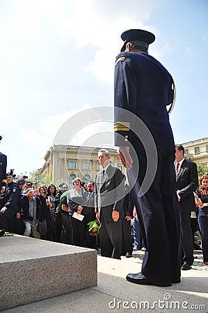 King Mihai I of Romania(4) Editorial Photography
