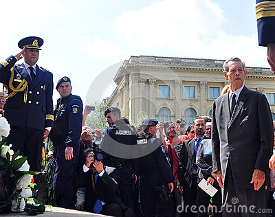 King Mihai I of Romania(5) Editorial Stock Photo