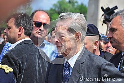 King Mihai I of Romania(7) Editorial Photography
