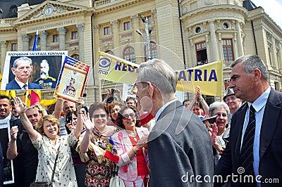King Mihai I of Romania(9) Editorial Stock Image