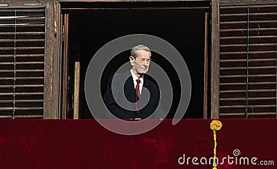 King Mihai I of Romania Editorial Photography