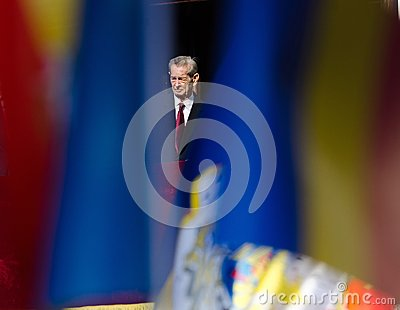 King Mihai I of Romania Editorial Photo