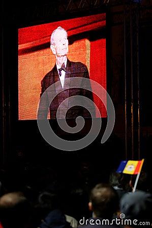 King Mihai of Romania Editorial Stock Photo