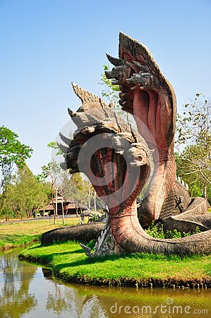King of Naga statue