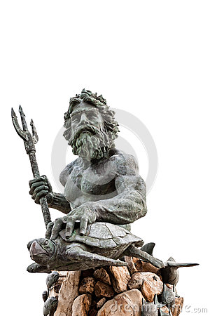 Free King Neptune Statue At Virginia Beach Royalty Free Stock Photography - 49717957