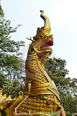 Free King Of Nagas Royalty Free Stock Image - 14130496