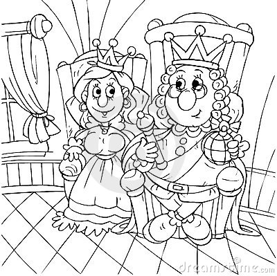 King and princess