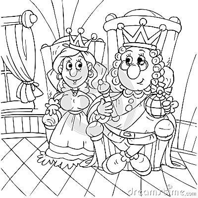 King and princess