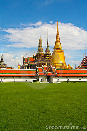 King royal Palace Wat Phra Kaeo Bangkok