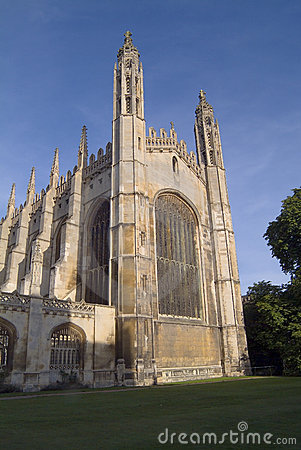 King s College Chapel, Cambridge. East front.