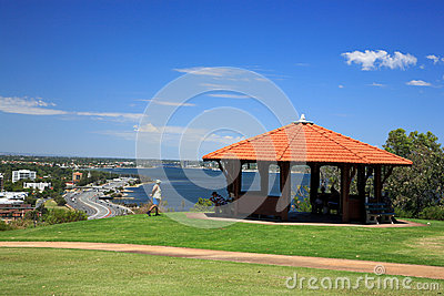 King s Park in Perth, Western Australia Editorial Stock Image