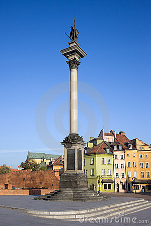 King Sigismund Column in Warsaw