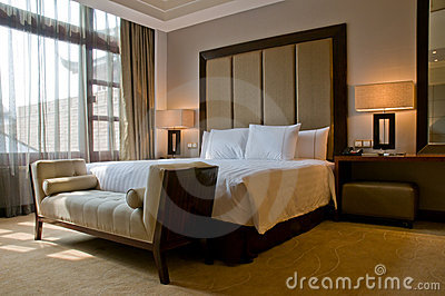 King Size  on Royalty Free Stock Photos  King Size Bed In A Five Star Hotel Suite