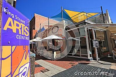 King Street,Western Australia Editorial Image