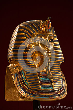 Free King Tut Death Mask Royalty Free Stock Images - 43892719