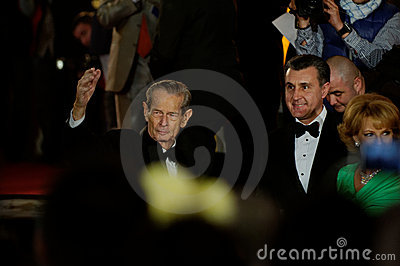 The king waving to the crowd Editorial Photo