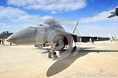Kingdom of Bahrain – January 21: F-15C SUPERIOR Editorial Photography