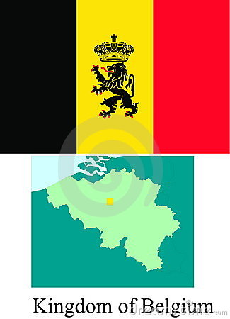 Kingdom of Belgium flag