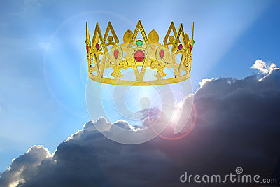 Kingdom of the heavens Stock Photo
