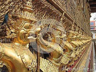 Kingdom palace in Bangkok