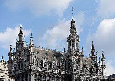 Kings House in Grand Place in Brussels