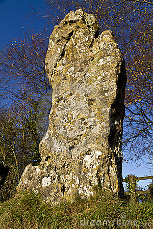 Kings Men monolith from neolithic stone circle