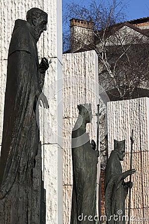 Kings Monument - Krakow - Poland Editorial Photography
