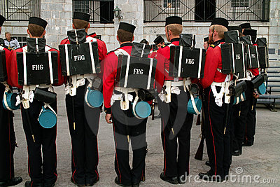 Fort Henry Guard Uniform Detail Kingston Ontario C Editorial Photo