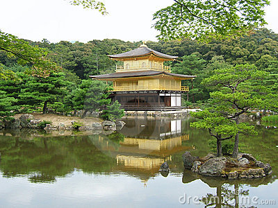 Kinkaju-ji Temple in Kyoto
