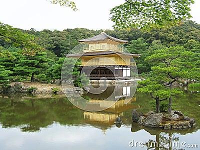 Kinkaju-ji Temple in Kyoto