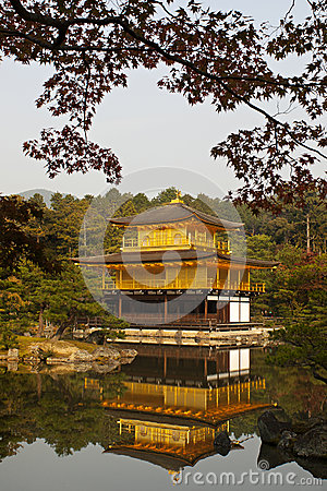 Kinkaku-ji, Golden Pavilion in Kyoto