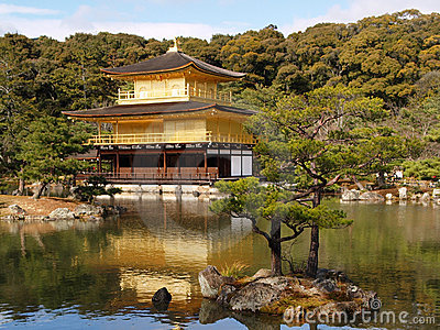 Kinkaku-ji in Kyoto Japan
