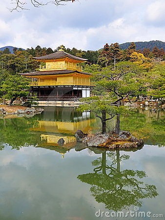 Kinkaku-ji (temple du pavillon d or)