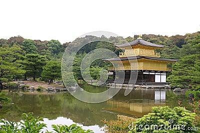 Kinkaku-ji temple. Japan