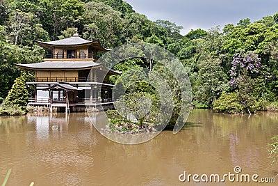 Kinkaku-Ji Temple in Sao Paulo